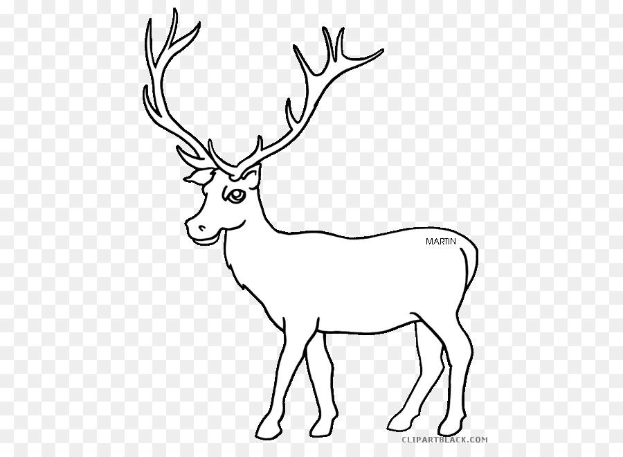 Elk Clip Art Vector Graphics Free Content Image