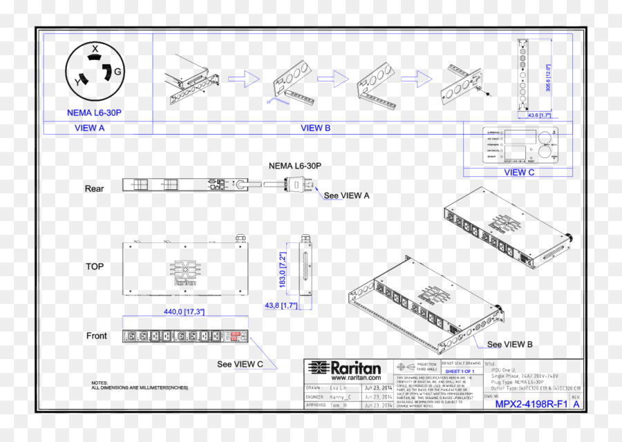diagram, power distribution unit, electrical wires cable, text, technology  png