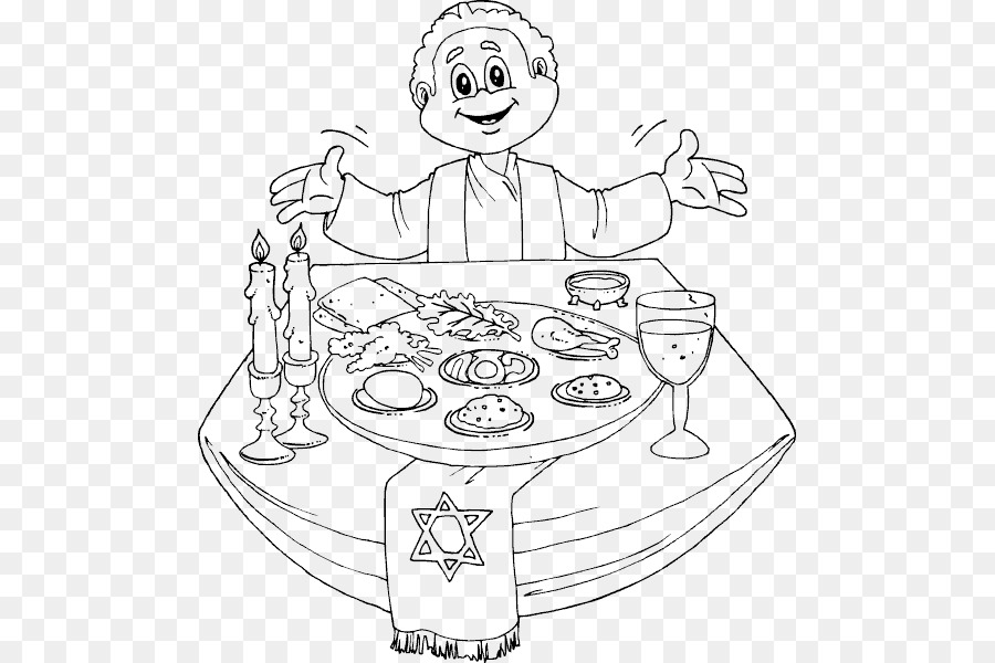 picture relating to Printable Haggadah identified as E-book Black And White png obtain - 541*600 - No cost
