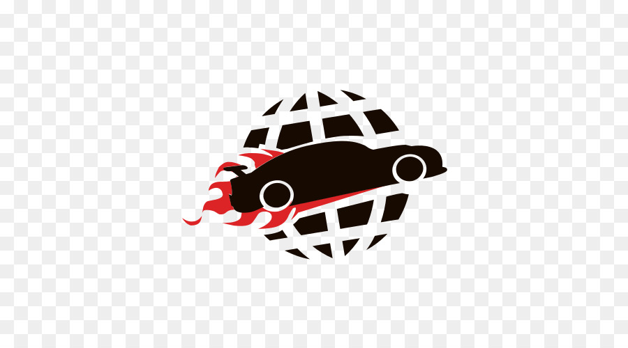 Auto Central Industrial Security Force Logo Illustration Art