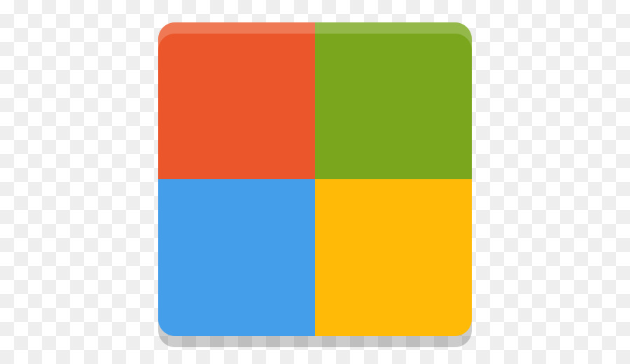 Microsoft Corporation Yellow png download - 512*512 - Free