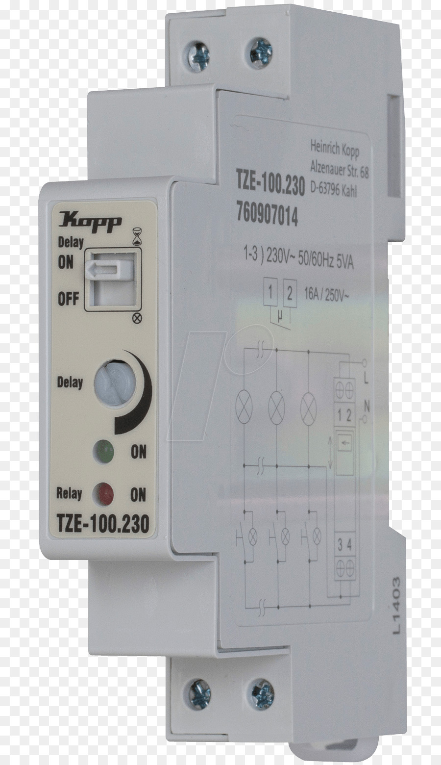 Circuit Breaker Electric Current Hager Staircase Lighting Timer 05 Potential In A 0510min Emn001 Difference Design