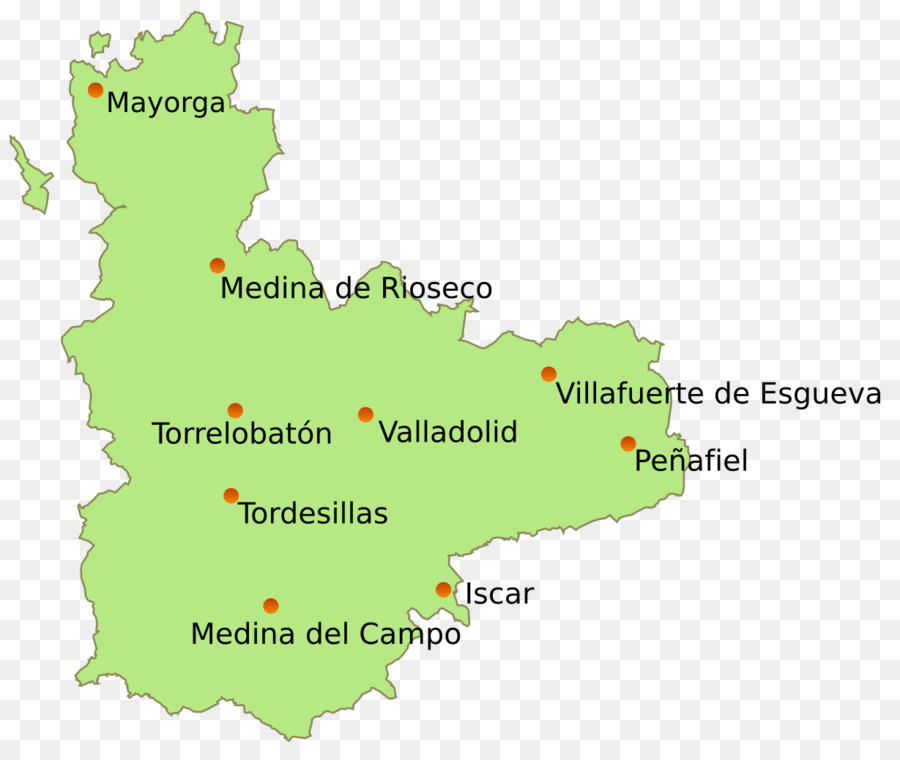 Map Of Spain Valladolid.Tree Plan Png Download 1229 1024 Free Transparent Valladolid Png