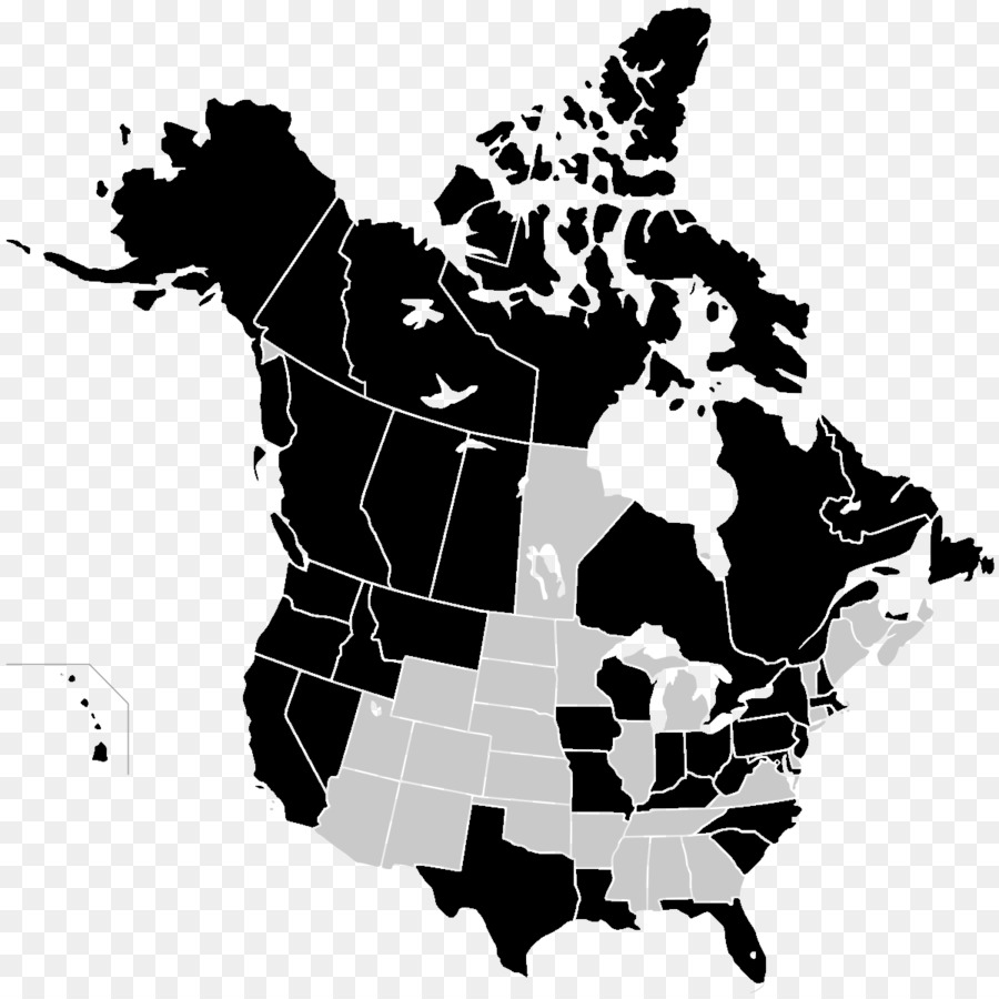 Map Of Canada Silhouette.Dog Silhouette Png Download 1200 1200 Free Transparent United