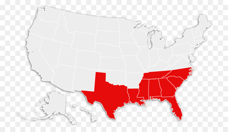 Southern United States American Civil War Confederate States of ...