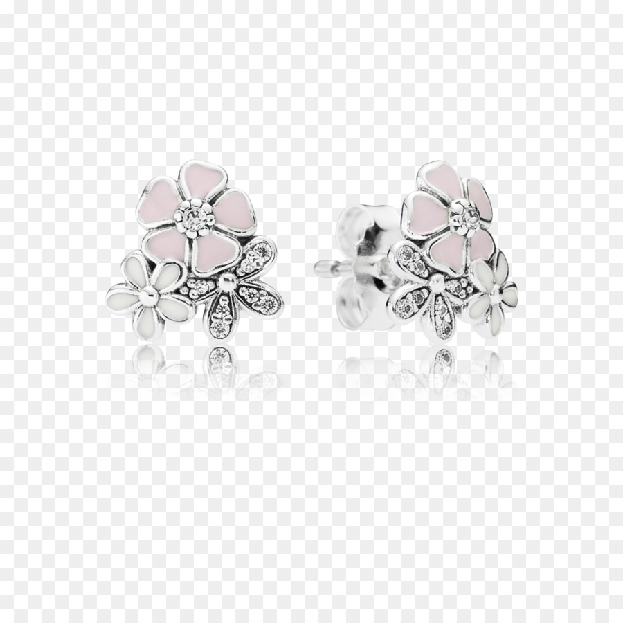 23c22e3c9 Earring, Pandora Poetic Blooms Stud Earrings 290686enmx, Pandora, Earrings,  Jewellery PNG