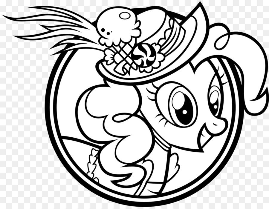 Fluttershy pinkie pie Dibujo para Colorear libro Rareza - diario de ...