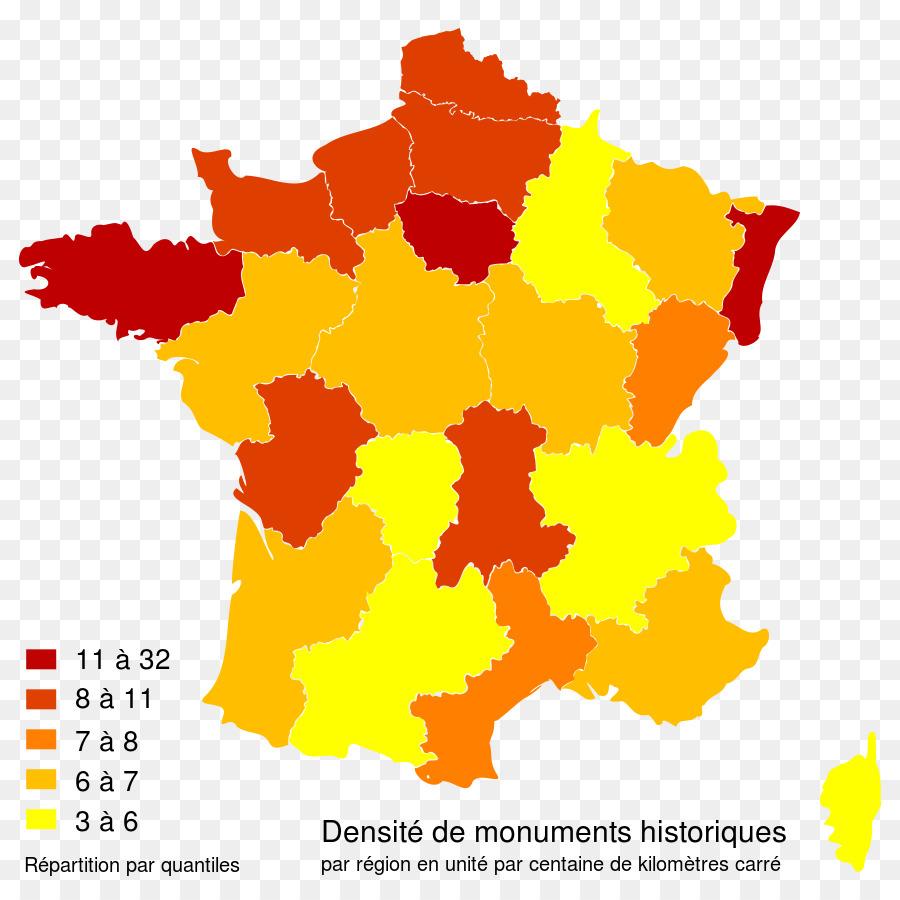 Frankreich Departements Karte.Regionen Der Karte Von Frankreich Departements Frankreich