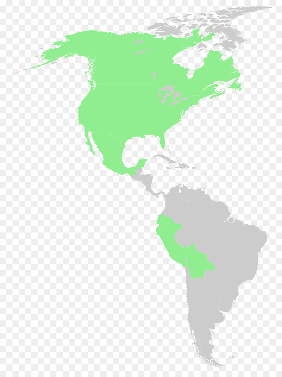 United States of America South America Blank map Vector graphics ...