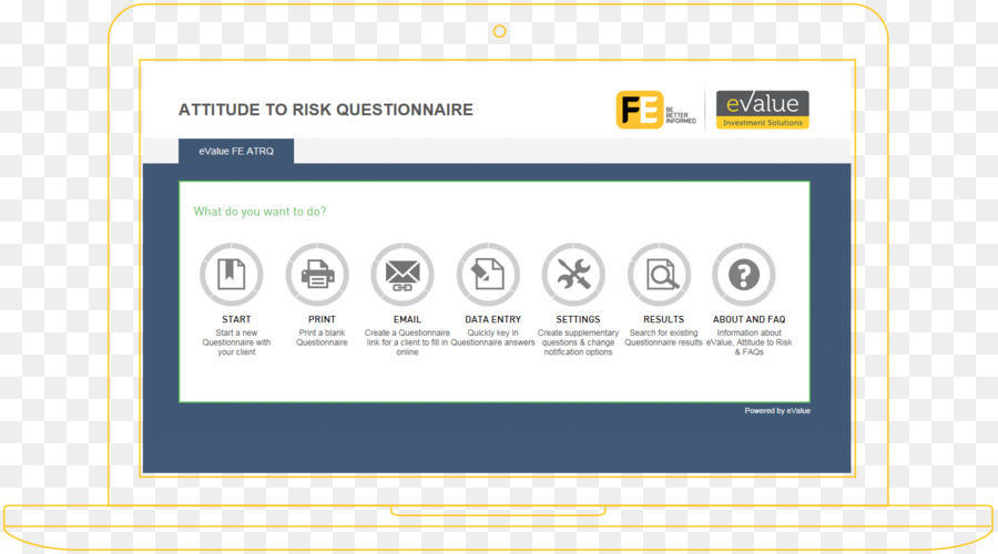 template investment questionnaire web page risk