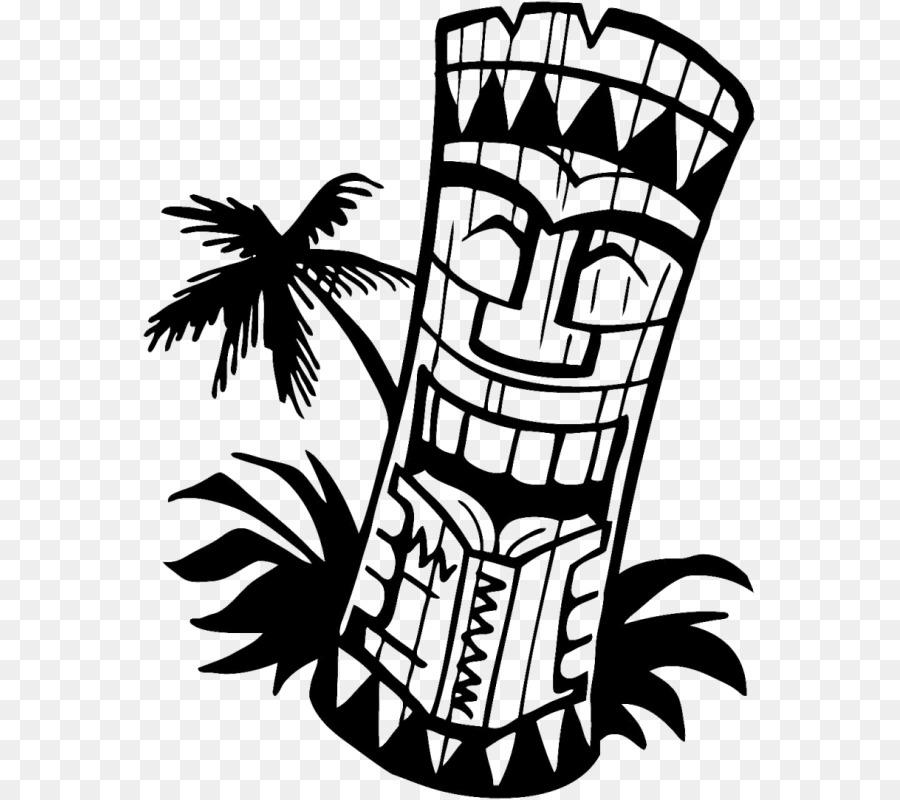 Hawaiian Language Clip Art Tiki Openclipart