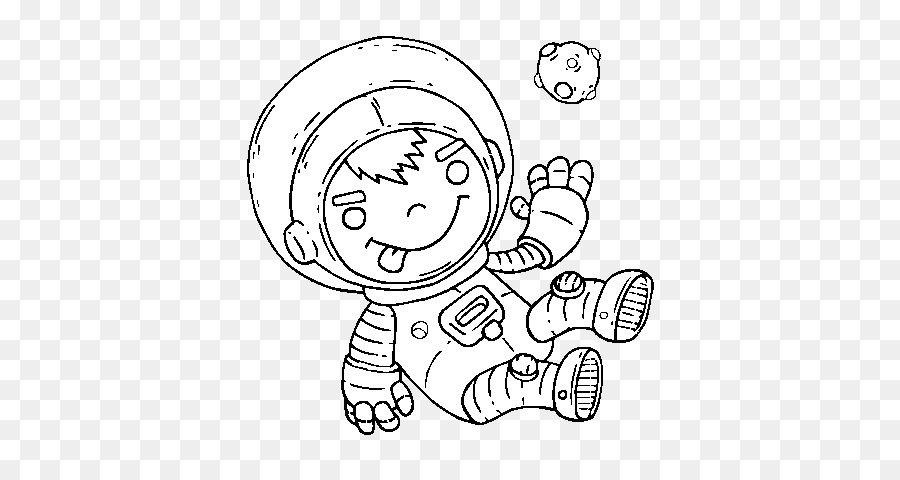 Dibujo para Colorear libro Astronauta Niño del espacio Exterior ...