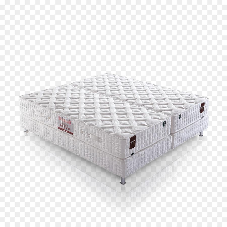 Bed frame Mattress Hotel Box-spring - bed png download - 1500*1500 ...