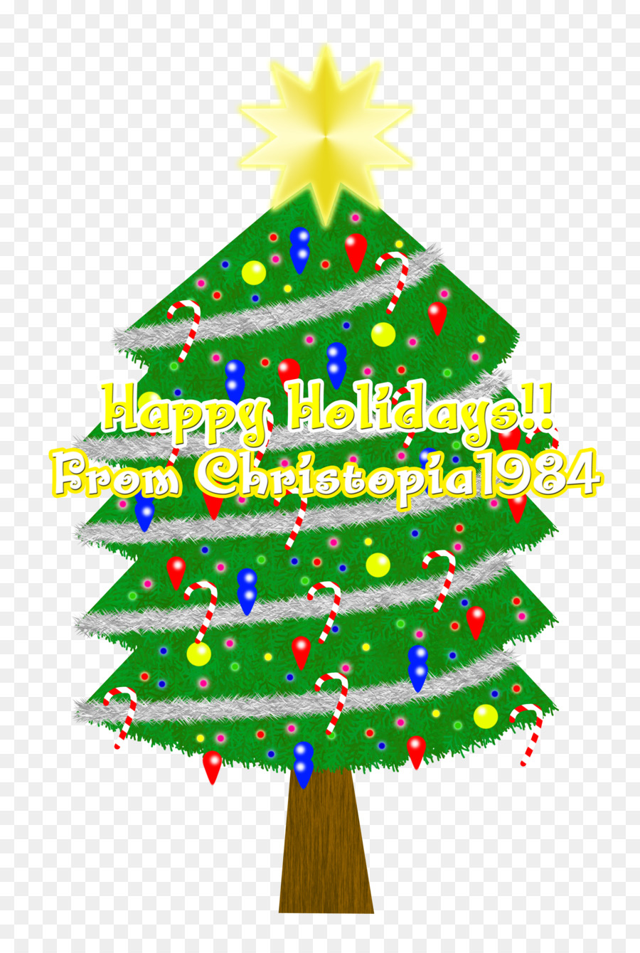 Christmas tree Christmas ornament Christmas Day Spruce Fir - top ...