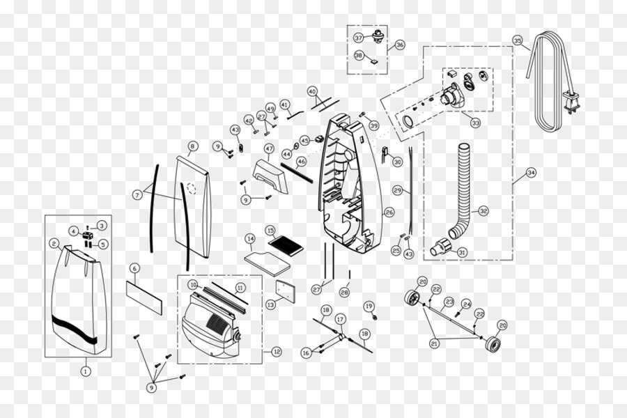 Astounding Vacuum Cleaner Wiring Diagram Schematic Miele Electrolux Wiring Digital Resources Hetepmognl