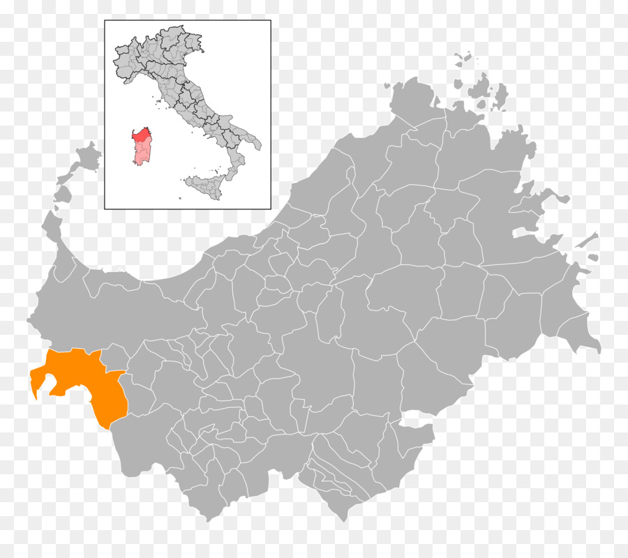 Sardinia Italy Map Image Vector Graphics Map Png Download 7030