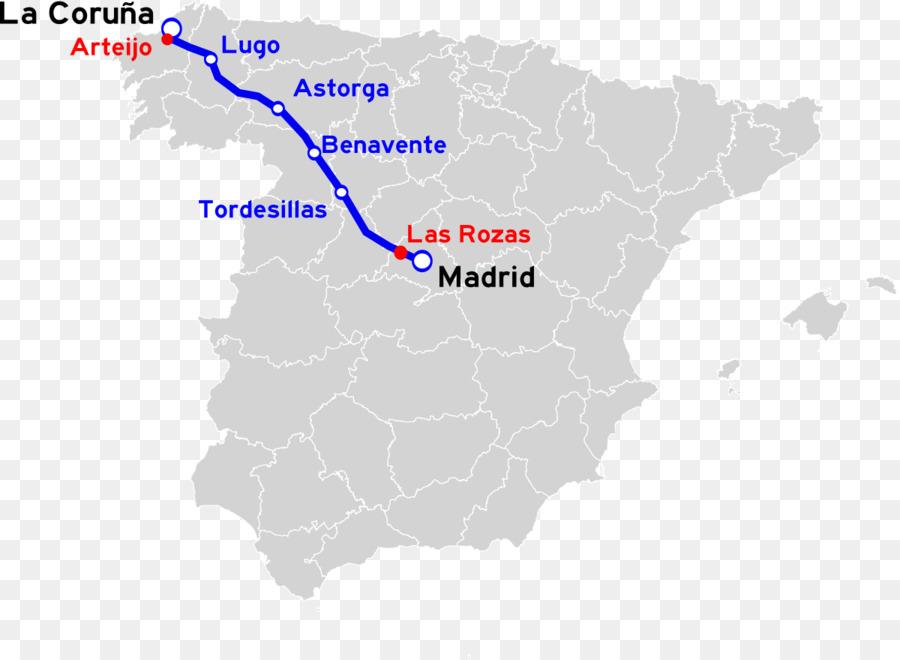 Carte Espagne Telecharger.Autopista Ap 6 A 6 Route De L Espagne Route Telechargement Png