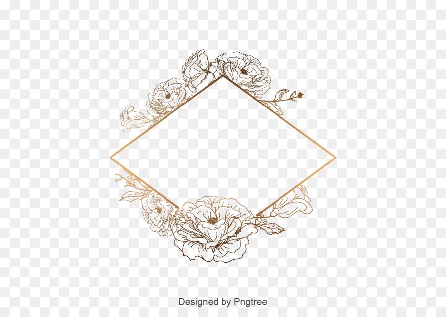 Floral Ornament Frame Png Download 640 640 Free Transparent