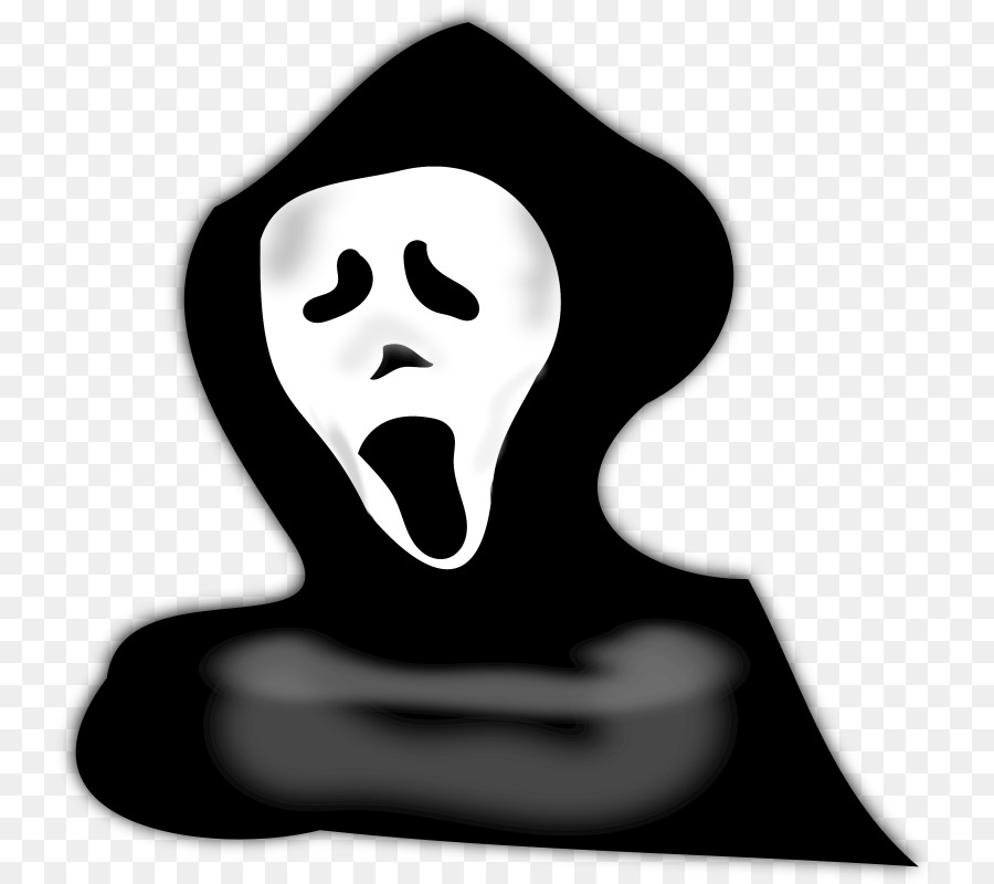Ghost Black And White png download - 800*800 - Free Transparent