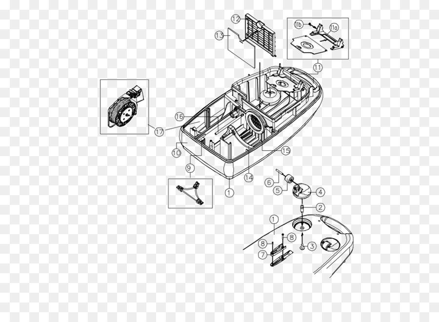 Drawing Vacuum Cleaner Diagram Tool Car