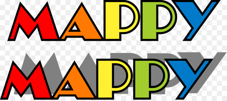 Mappy Logo Dig Dug Video Games Arcade Game Png Download 1024450