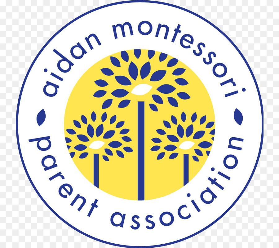 Pendidikan Montessori Organisasi Anak Merek Unduh Kuning