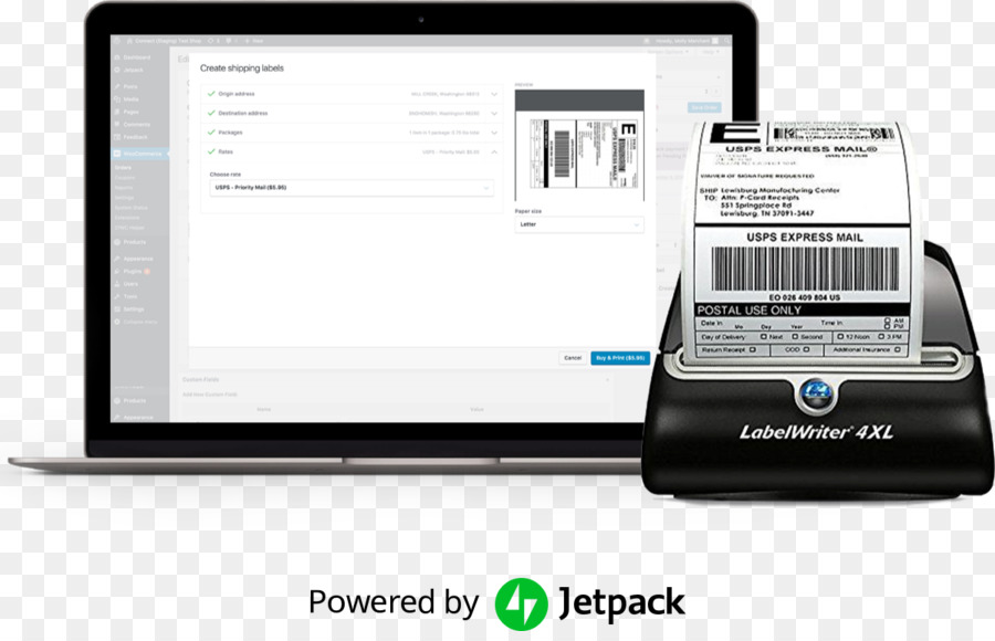 Dymo Labelwriter 4xl Technology png download - 1198*760 - Free