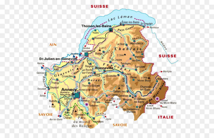 Downloadable Road Map Of France.Water Background Png Download 600 566 Free Transparent Savoie