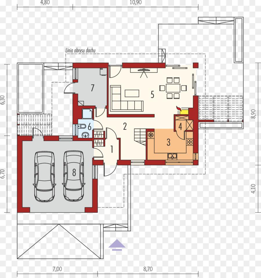 Grundriss Satteldach Design Haus Png Herunterladen 1065 1131