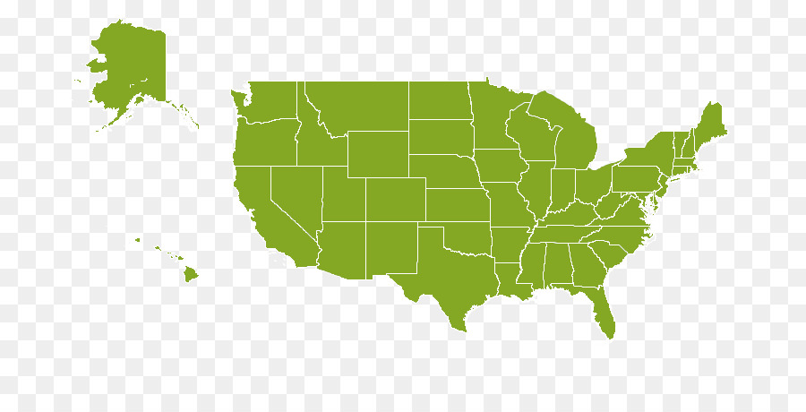 United States of America Vector graphics U.S. state Map Illustration ...