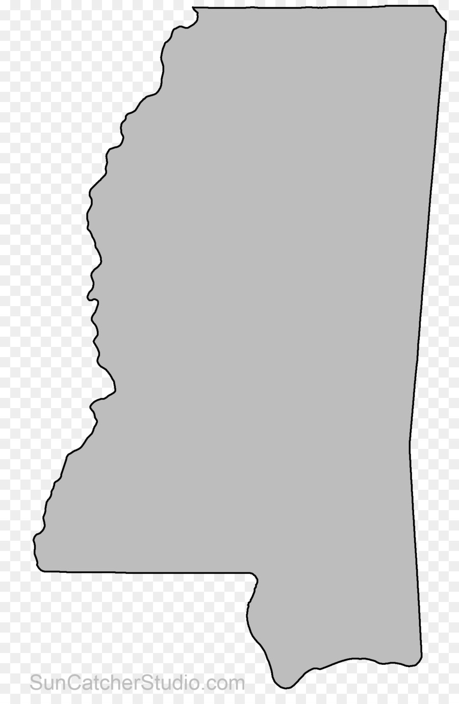 Mississippi Alabama Clip Art Arkansas Ohio Miss Vector Png