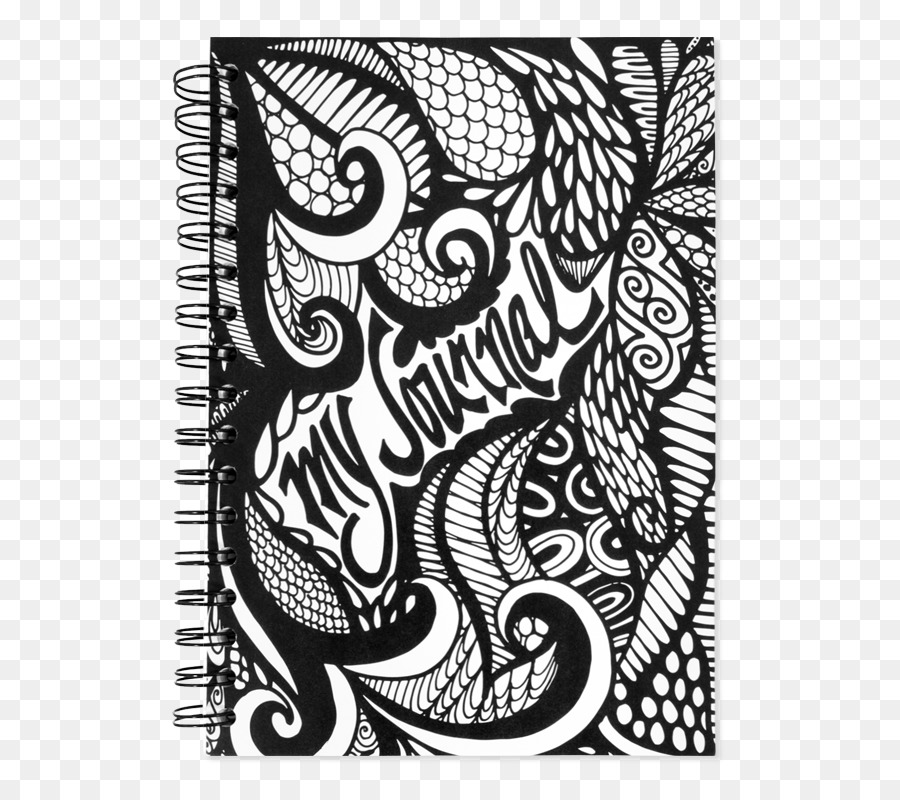 Notebook Drawing Design Doodle Book Covers White Notebook Cover