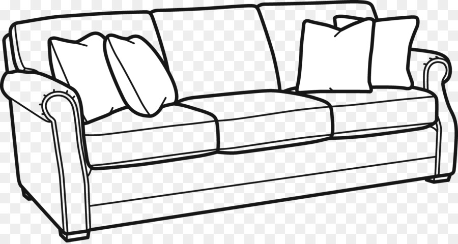 Clip Art Couch Furniture Loveseat Sofa Bed Damaged Furniture Png