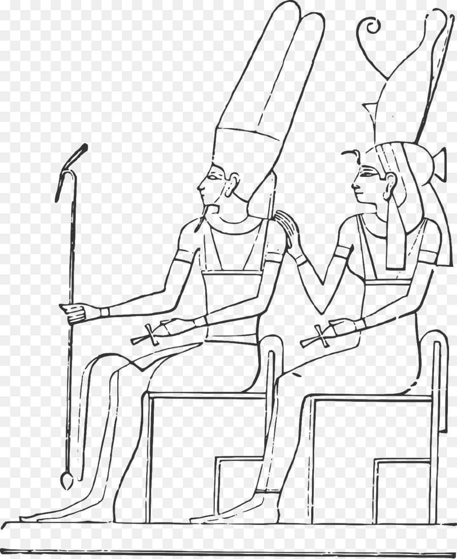 Eski Mısır Mısır Piramitleri Mumya Boyama Kitabı Tanrılar Png