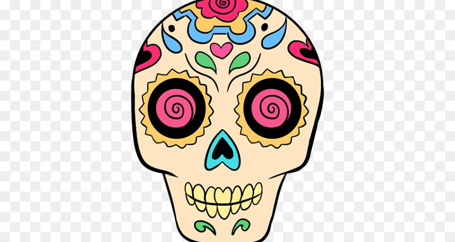 Dibujo De Calavera Día De Los Muertos Calavera Para Colorear Libro