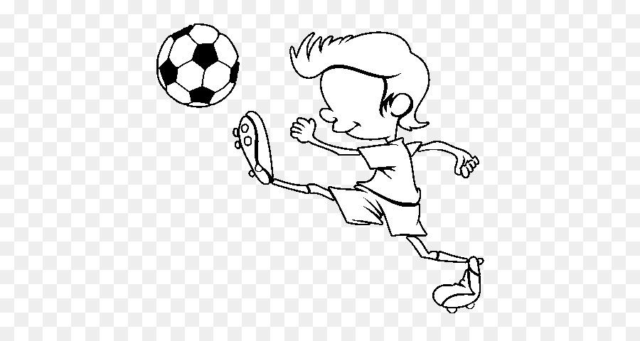 Dibujo Para Colorear Libro Jugador De Fútbol De La Pintura Fútbol