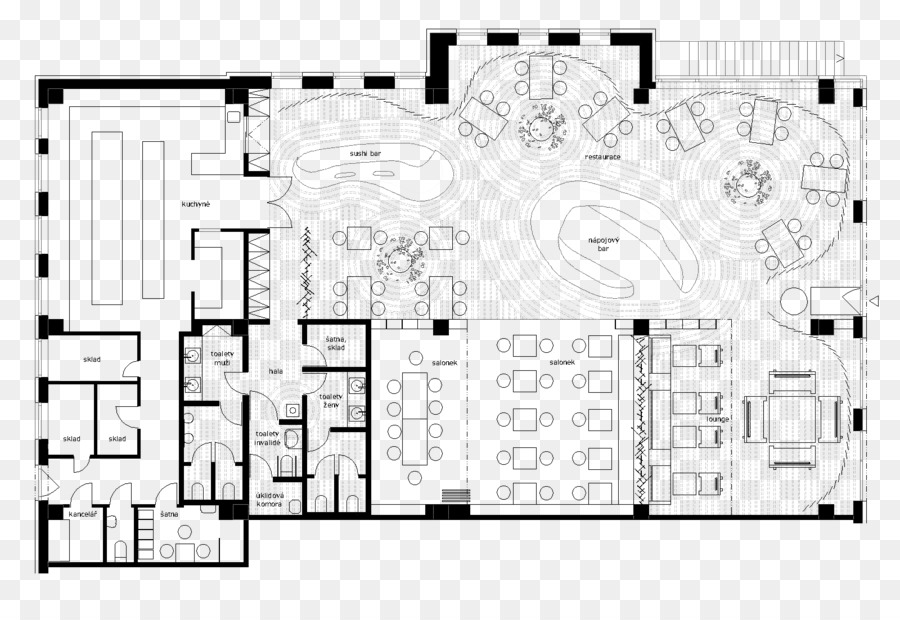 Grundriss Restaurant Küche Design-Hotel - Küche png herunterladen ...