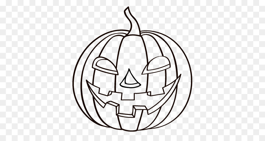 Jack-o\'-lantern libro para Colorear, Dibujo de Calabaza de Halloween ...