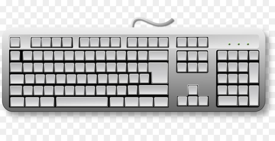 Computer Keyboard Computer Mouse Vector Graphics Drawing Computer