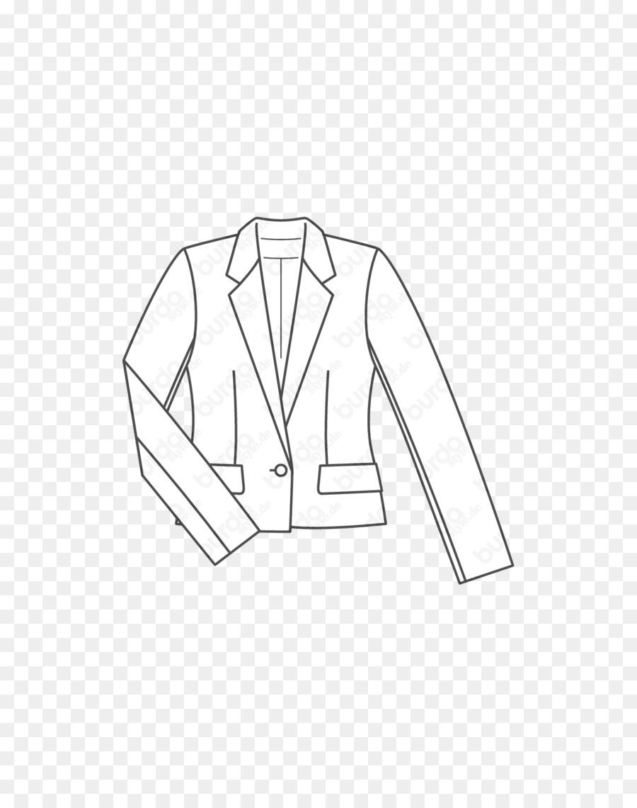 Pola Jaket Jas Blazer Pakaian Jaket Unduh Putih Pakaian Hitam