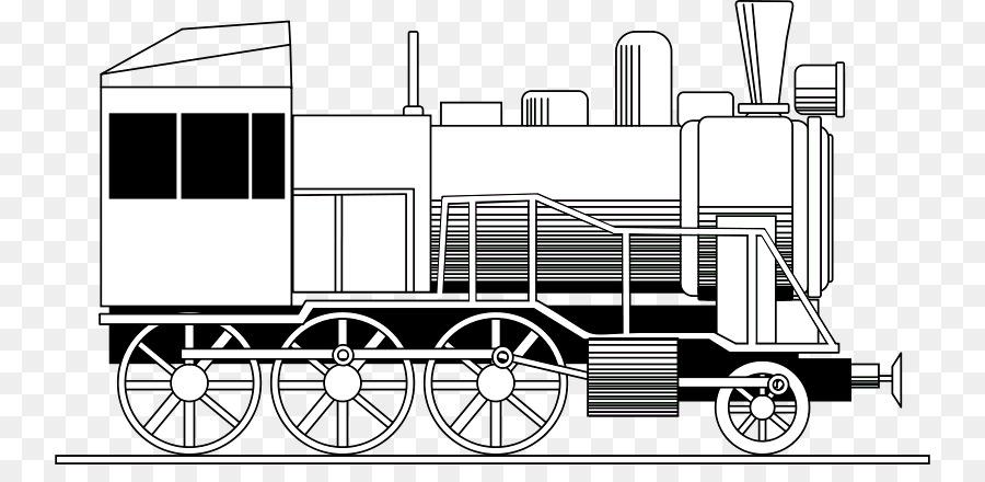 Der Bahn Transport Eisenbahn Ausmalbild Lokomotive Lokomotive Png