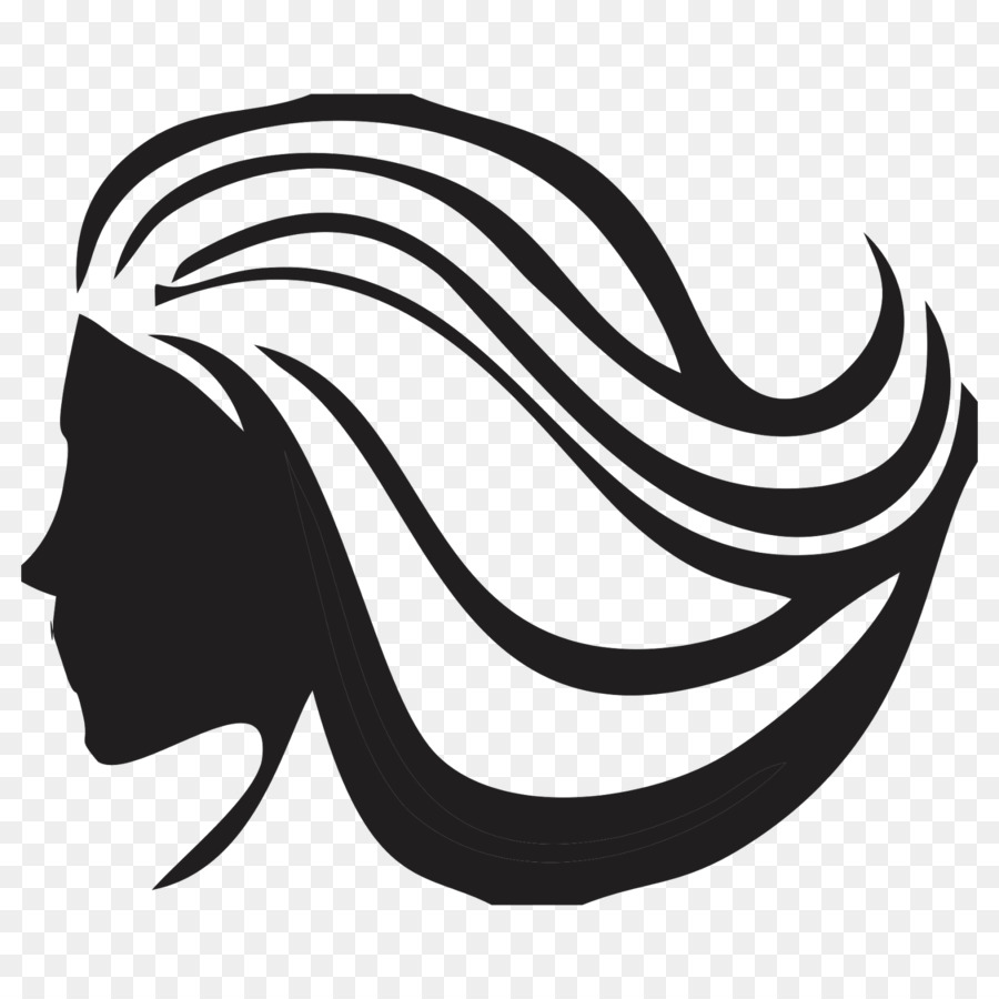 Hairstyle Artificial Hair Integrations Logo Vector Graphics Hair