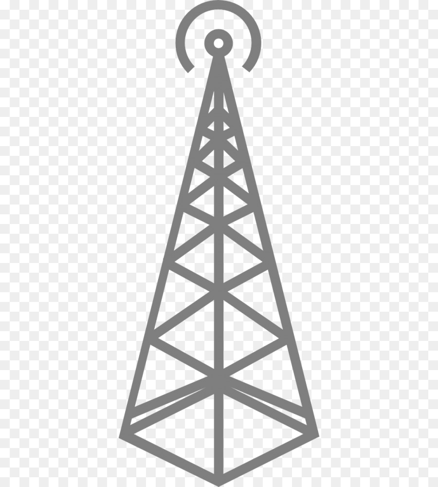 Telecommunications Tower Triangle png download - 500*1000 - Free