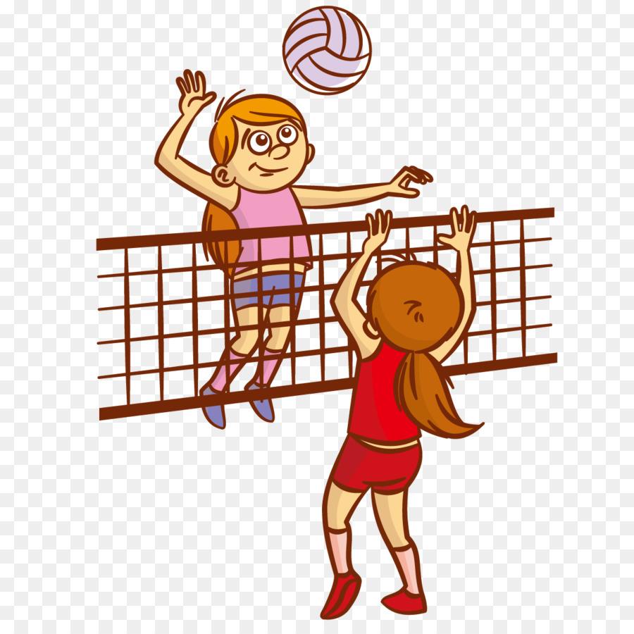 направлений мультяшные картинки волейбола вариантов разжовывания