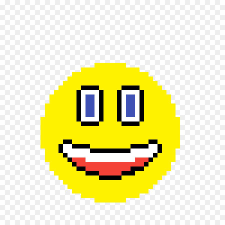 Pixel Art Smiley Png Download 12001200 Free Transparent