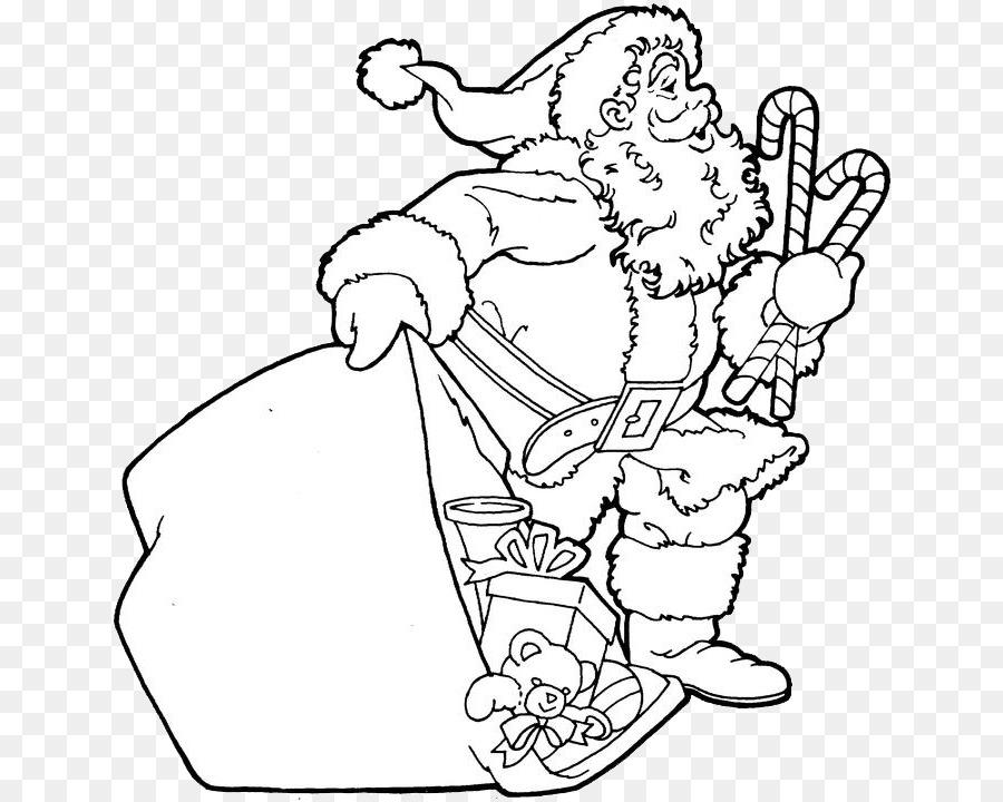 Santa Claus libro para Colorear de Navidad Libro para Colorear ...