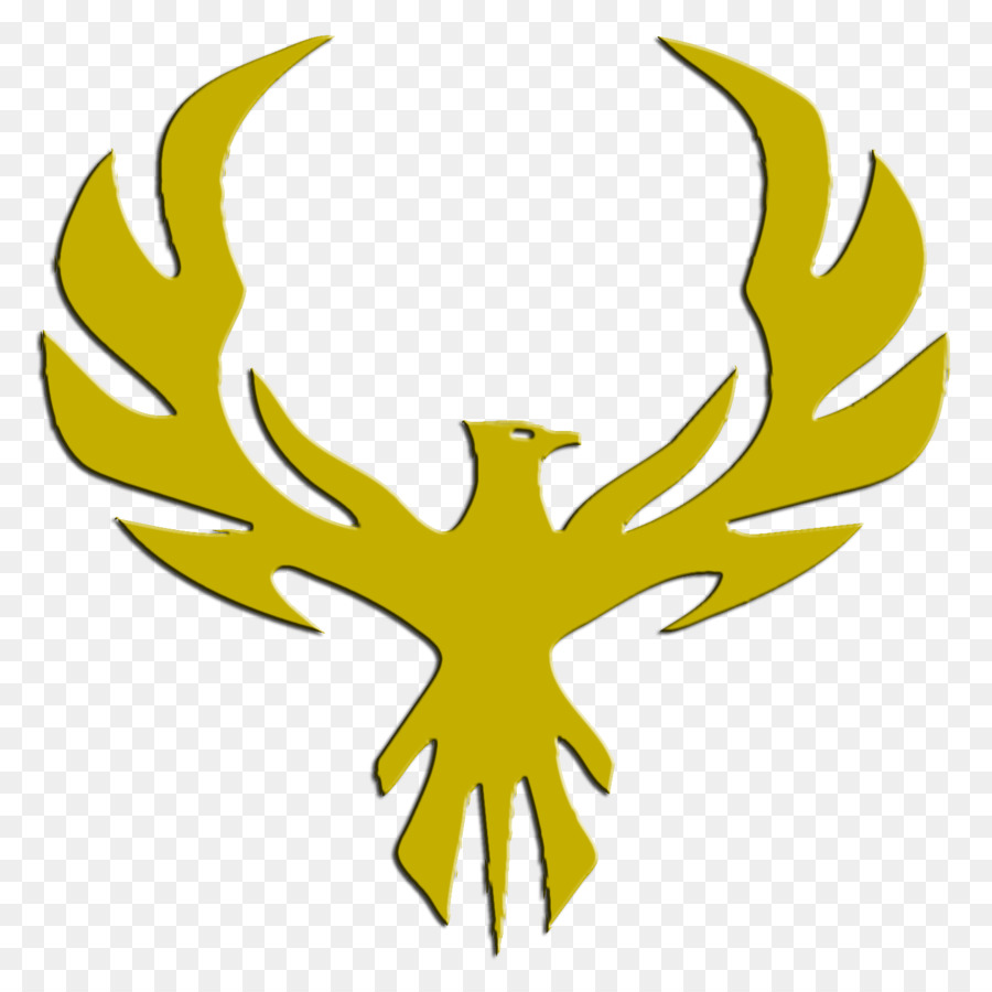 Phoenix decal sticker yellow leaf png