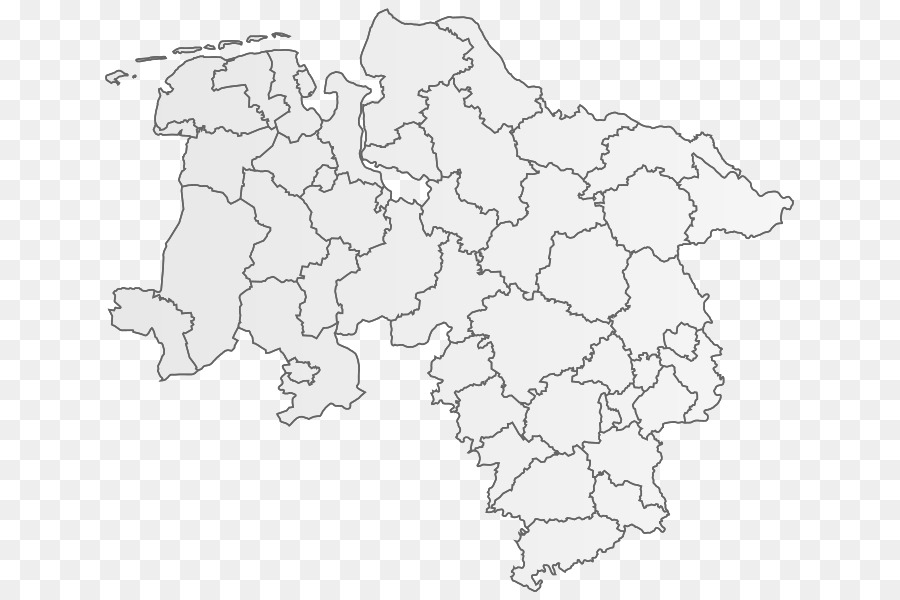 Lower Saxony Germany Map.Lower Saxony Blank Map Geography States Of Germany Map Png