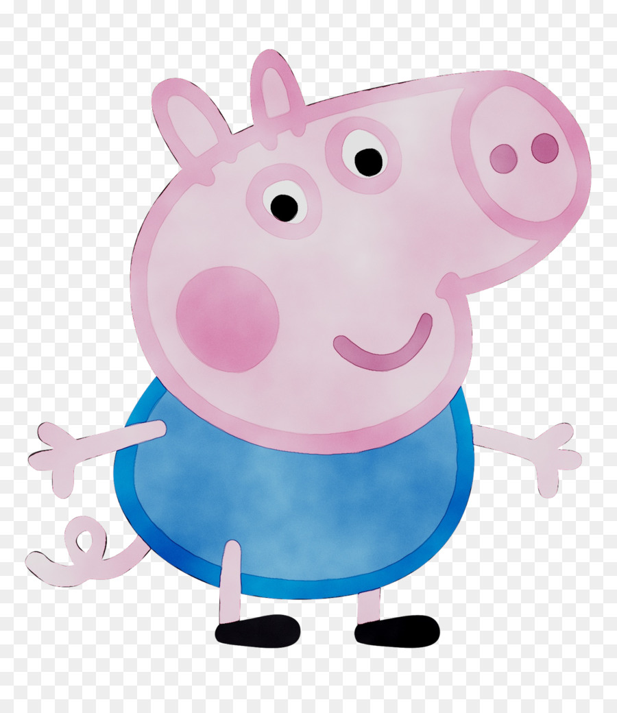 Peppa Pig Birthday png download - 1580*1824 - Free Transparent
