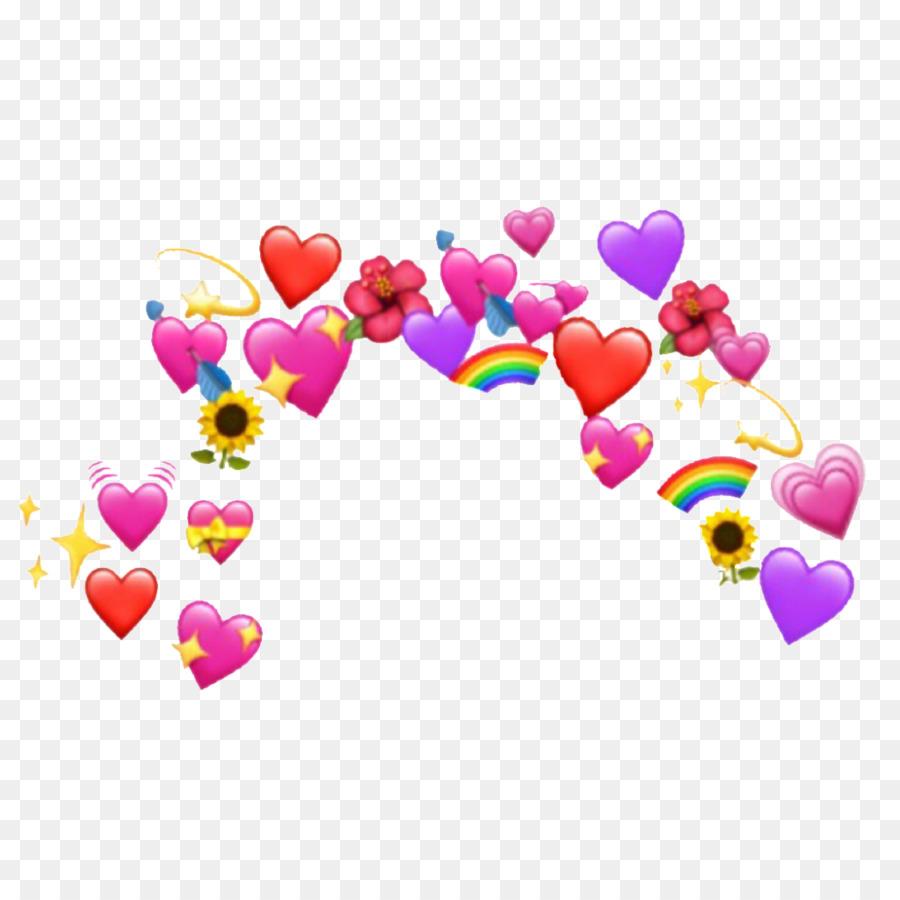 Emoji Heart png download - 1024*1024 - Free Transparent Emoji png